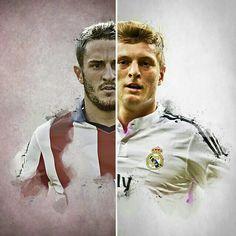 The Madrid derby has started! COME ON REAL! / ¡Comienza el #derbi madrileño! ¡VAMOS REAL! #ATLvsRealMadrid #RealMadrid #HalaMadrid