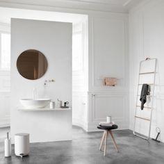 Menu Roskakori 7 L, valkoinen | Tarvikkeet | Kylpyhuone | Finnish Design Shop