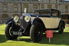 Classic Bentley at Windsor Castle
