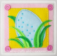 If you like to embroider or if you are just learning how, then try this easy Easter embroidery project. This adorable Easter wall hanging uses inexpensive sewing and craft supplies.