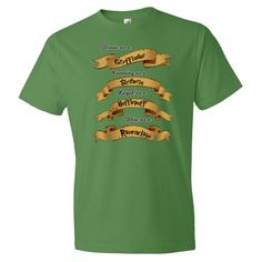 Hogwarts House Traits Short sleeve t-shirt