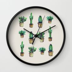 cactus original Wall Clock
