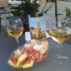 Ortrugo e coppa piacentina: aperitivo a Castell'Arquato - Instagram by saracaseri
