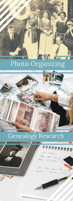 Expert tips for organizing your family photos with genealogy research in mind