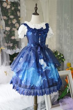 Angelcat Lolita ~Ship at Starry Night ~ Lolita JSK - 4 Colors Available102.99 - My Lolita Dress