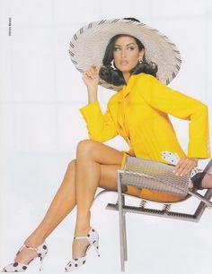 yasmeen ghauri | 1992 - Yasmeen Ghauri - Valentino