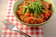 Op zoek naar een lekker, simpel en snel recept? Bekijk dan eens dit recept voor couscous met gehakt en sperziebonen. Succes gegarandeerd!