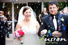 #Wedding Photography  Bubbles Bubbles everywhere