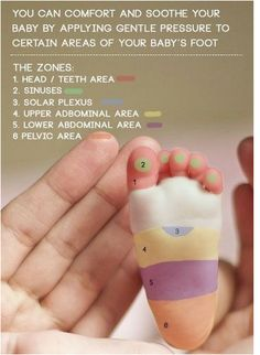 Relieve discomfort in your baby by massaging their feet. | 31 Incredibly Helpful Tips And Hacks For A New Baby
