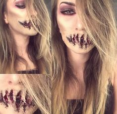 Makeup by Kim Marin - Instagram: kim.marin.sfx | My very first special FX makeup…