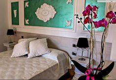 Rozeta perfecta poate fi transformata intr-un obiect de arta ce va suprinde prin frumusetea si eleganta ei! Decor, Furniture, Oversized Mirror, Home Decor, Bed, Mirror