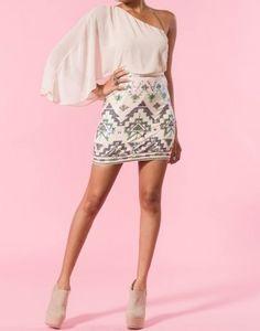 cute Aztec Pastels dress