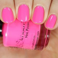 KBShimmer How Low Can You Flamingo?   Summer 2016 Collection   Peachy Polish