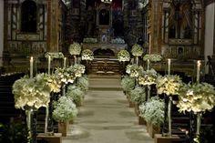 Referências – Decoração para Cerimônia na Igreja