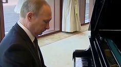 Vladimir Putin playing Rasputin on piano - YouTube