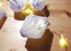Papierlampions für Lichterkette | DIY LOVE