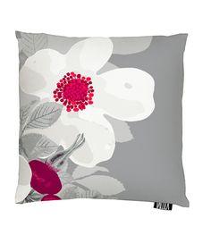 Vallila Interior AW14, Rosanna cushion cover 43x43cm red by Tanja Orsjoki