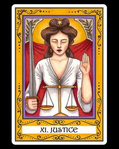 XI. Justice: The Incidental Tarot