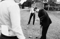 Vintage games at a Country wedding. Photographer: Jeremy Beasley. Croquet set from CL Weddings and Events. Australian Cattle Station Wedding | The Bride's Tree - Sunshine Coast Wedding