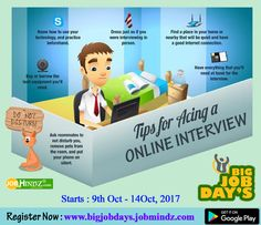 #Virtual_Opportunities don't often come along, So, when they do, you have to grab them  Big Job Day's Are coming  India First and Largest #Vitual_Job_fair.  Visit: http://www.bigjobdays.jobmindz.com/