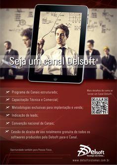 Como ser canal Delsoft Sistemas. Empresa de Rio do Sul/SC