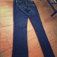 Paige jeans hidden hills straight sz 29 x 31 Great pre own condition some streach medium denim great constructed jeans new 186 made in USA Paige Jeans Jeans Straight Leg