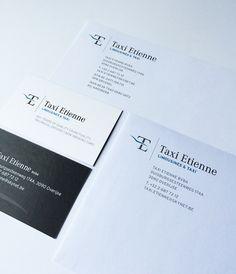 Logo en huisstijl voor Taxi Etienne