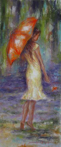 Alexandrina Karadjova ~ La Dolce Vita Pubblicato da maria laterza Art Styles and Categories: 20th-21th century Art, Abstract Art Movement, Bulgarian Artist, Figurative Artist, Pastel painter, Portrait painter, Women Artists