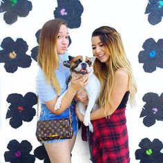Mamamiamakeup and alishamarie! Go subscribe to em'