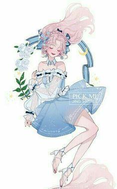 Kawaii Anime Girl, Anime Art Girl, Manga Girl, Manga Anime, Character Art, Character Design, Cute Art Styles, Anime Angel, Beautiful Anime Girl