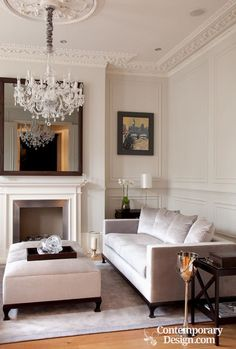 Decor Inspiration: Chic, Sophisticated Gray | Living rooms, Room and ...