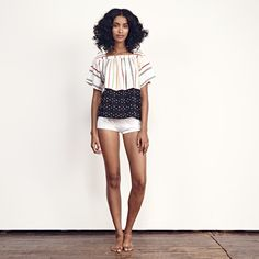 Ace & Jig Vista top - Merry coming soon! Ace And Jig, Weaving Textiles, Love Story, Chic, Stylish, Twine, Model, How To Wear, Clothes