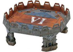 Skyshield Landing Pad | Warhammer 40,000 Scenery | Warhammer 40,000 | Games Workshop