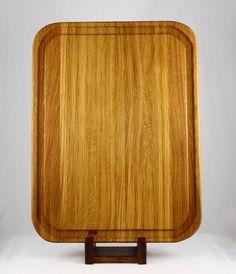 White Oak Butcher Block Cutting Board $100