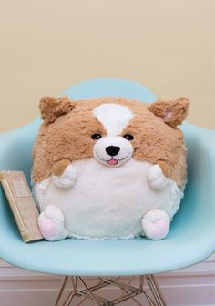 Plush One Corgi/Pug Pillows