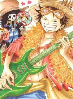 One Piece, Monkey D. Luffy, Brook