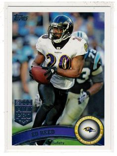Sports Cards Football – 2011 Topps (2010 All Pro) Ed Reed . . $0.20 plus shipping $1.00