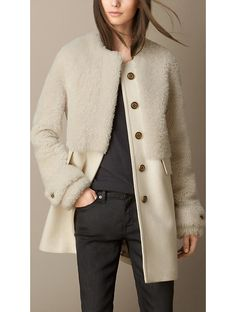 We love this Burberry coat (on our holiday wish list this year!)
