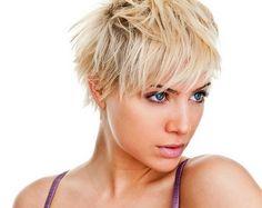 Pixie cut kurze haare