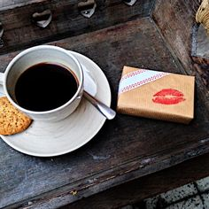 #Slovakfolkpattern #wrappingpaper #prettypaper #coffee #sweetkiss #Valentinesday