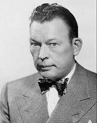 Fred Allen 1940s NBC photo.....Fred Allen (born John Florence Sullivan; May 31, 1894 – March 17, 1956) Cambridge Mass was an American comedian whose absurdist, topically pointed radio program The Fred Allen Show (1932–1949) made him one of the most popular and forward-looking humorists in the Golden Age of American radio.. Allen and his wife were besties with James Mason and his wife Pamela.