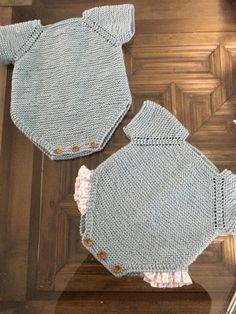 Teddy Bear Sweater pattern by Marta Porcel Knitting Kits, Sweater Knitting Patterns, Knitting For Kids, Free Knitting, Crochet Baby, Crochet Bikini, Knit Crochet, Tricot Baby, Knit Shrug