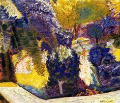 Bonnard, Pierre - Jardin Vu De La Terrasse