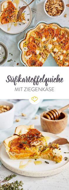 [Anzeige] In deiner Quiche werden Süßkartoffeln, Lauch und Walnüsse zum Dauergast [in Kooperation mit Maggi]