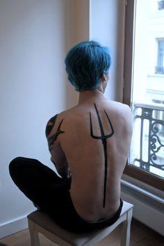 trident tattoo - Google Search