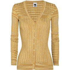 M Missoni Crochet-knit cardigan (€285) found on Polyvore