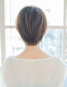 似合わせ小顔ショート(SY-253)   ヘアカタログ・髪型・ヘアスタイル AFLOAT(アフロート)表参道・銀座・名古屋の美容室・美容院
