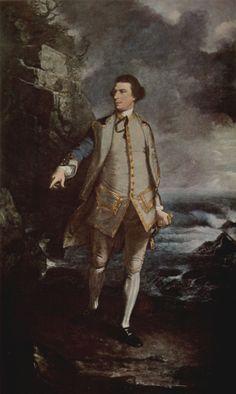 Sir Joshua Reynolds: Porträt des Kommodore Augustus Keppel