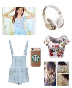 """Maybaby (Meg DeAngelis) outfit"" by rox-203 ❤ liked on Polyvore featuring Beats by Dr. Dre"