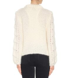 Ganni - The Julliard mohair and wool sweater | mytheresa.com